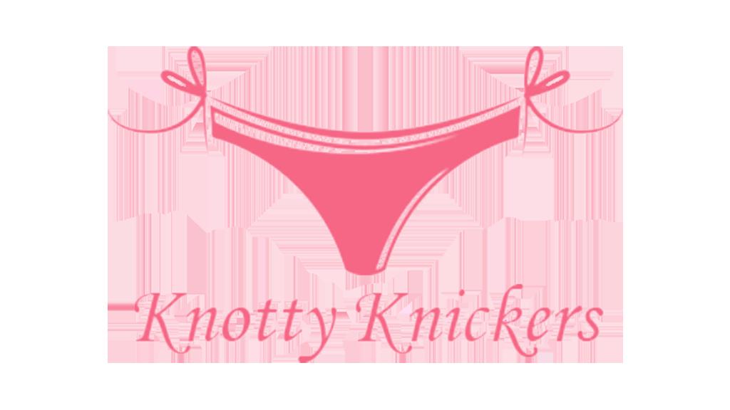 knotty knickers pink logo