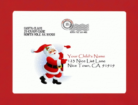 Personalized letter from santa by mail or digital download service personalized letter from santa by mail or digital download service launched spiritdancerdesigns Images