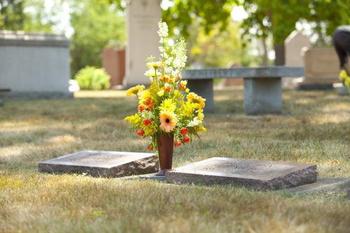 Cemetery Flower Vase Thefts Escalate Demand For Theft Deterrent