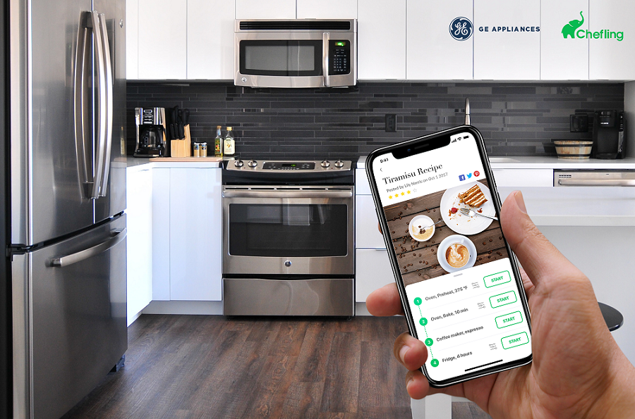 Chefling Launches Ultraconnect Tm Partners With Ge Appliances