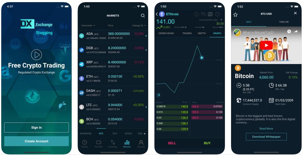 cryptocurrency trading platform app