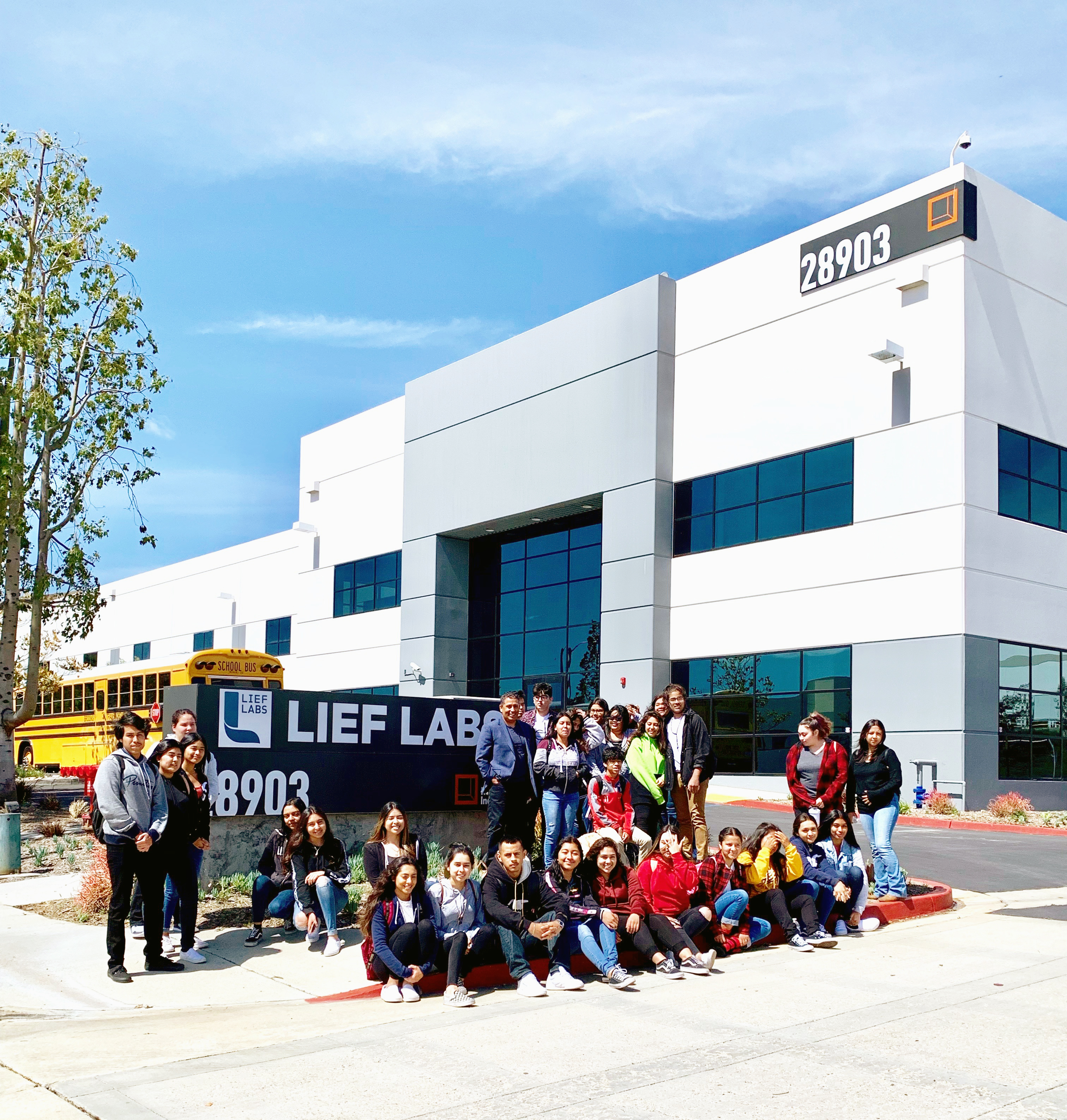 Lief Labs Helps Prep San Fernando High School Students for