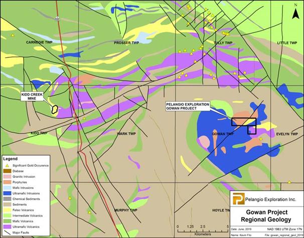 Pelangio Exploration Inc  Grants Extension On Gowan Property