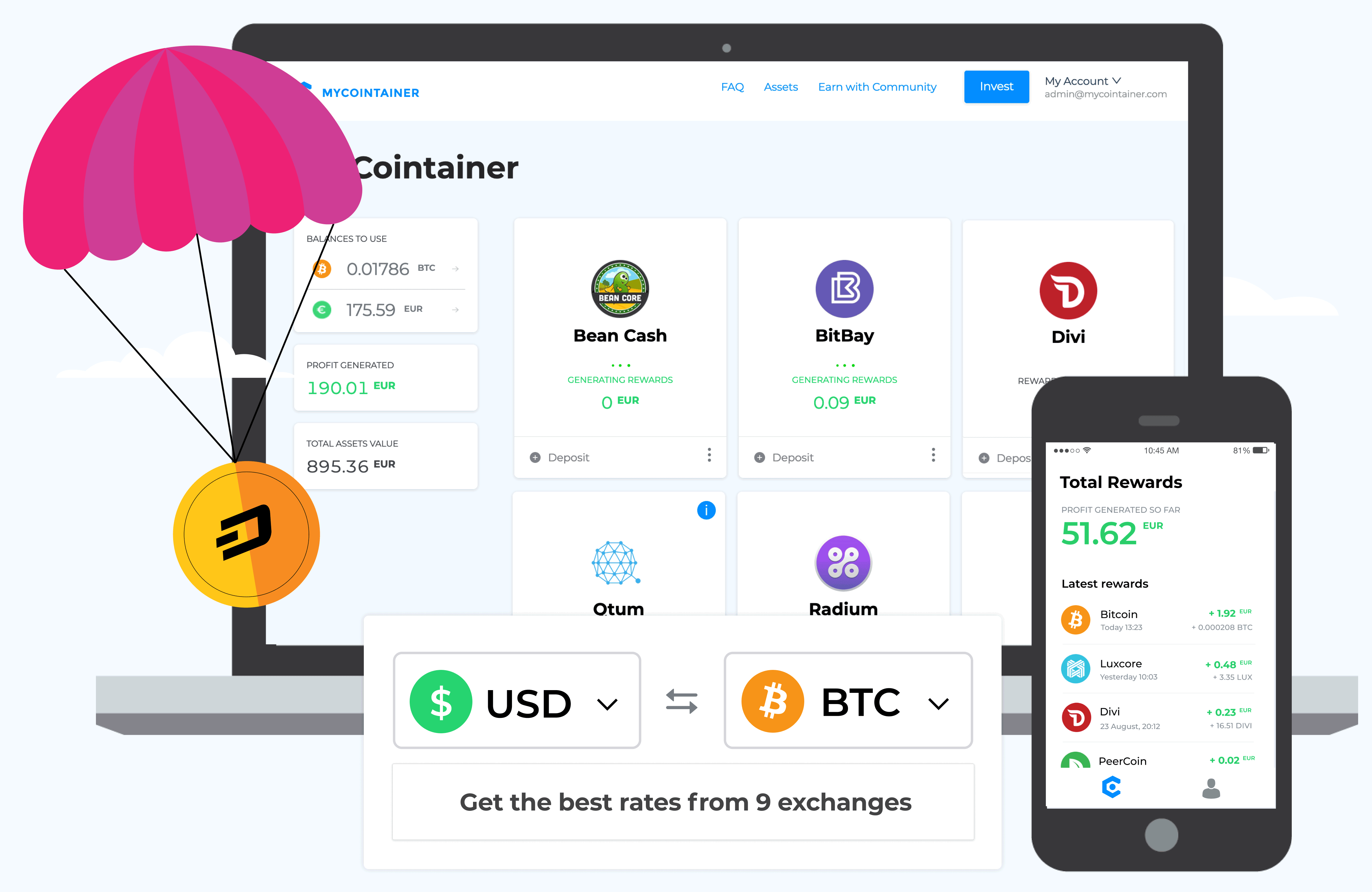 what makes one cryptocurrency different to another
