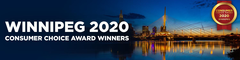 Winnipeg Region 2020 Consumer Choice Award Winners