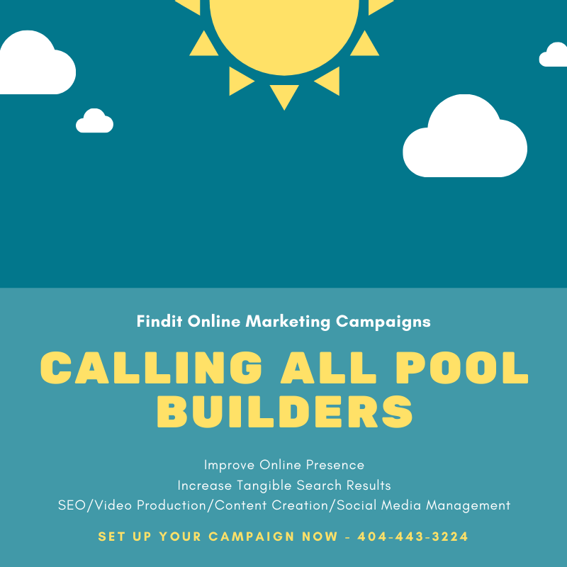 All About Pool Builder Marketing