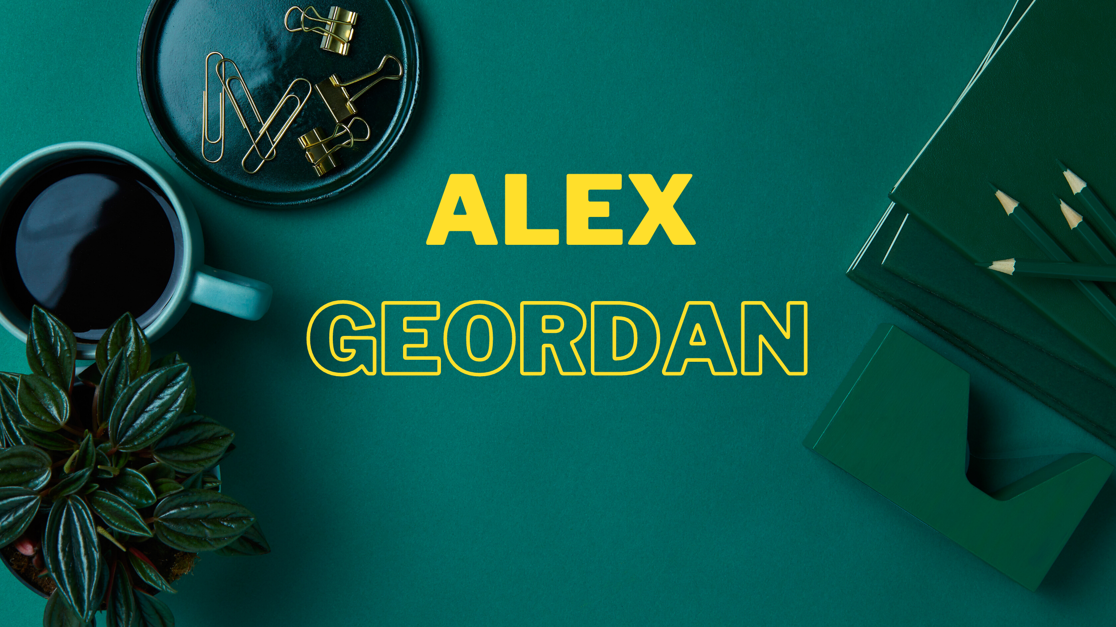 Alex Geordan