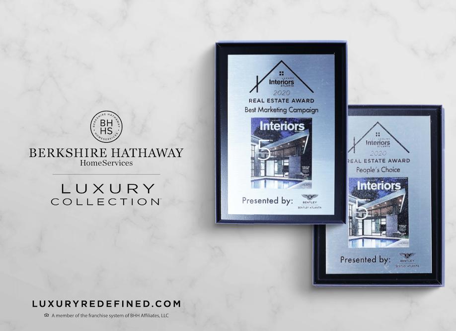 Berkshire Hathaway Homeservices Ga Properties Atlanta Luxury Brokerage Luxury Collection Of Berkshire Hathaway Homeservices Georgia Properties Awarded Best Marketing Campaign