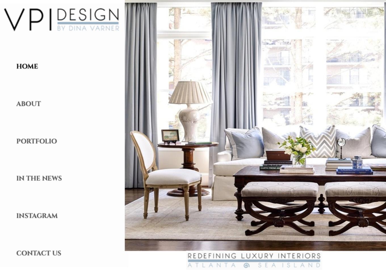 Top Atlanta Luxury Interior Designer Vpi Design Announces Website Redesign