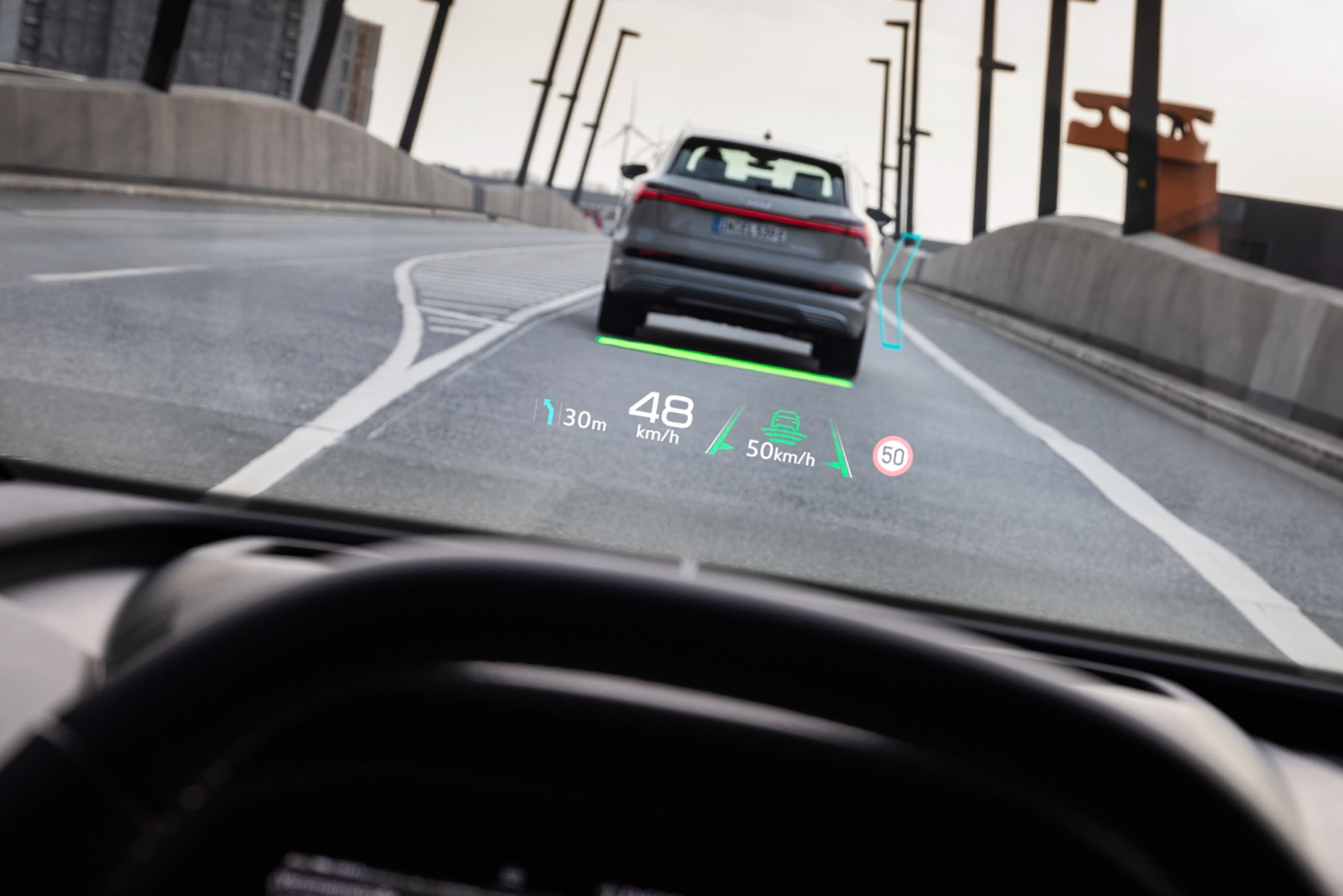 A car driving on a roadDescription automatically generated with medium confidence