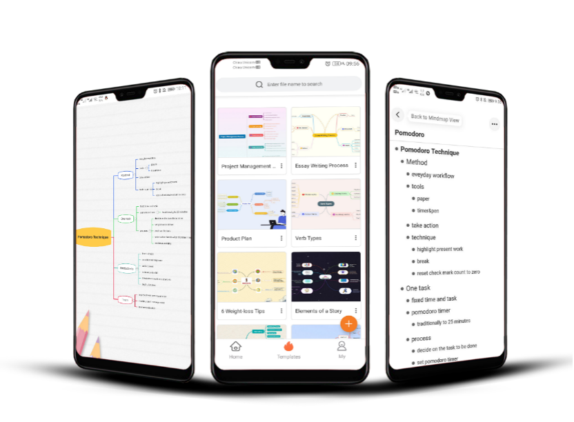 GitMind Launched Free Mind Map Apps for iOS & Android